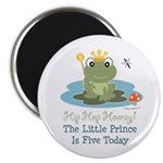 Frog Prince 5th Birthday 2.25