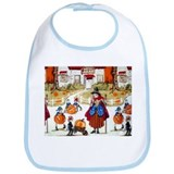 Witches & Elves Bib