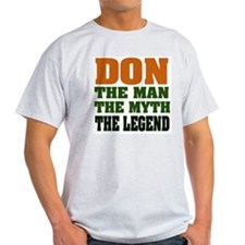 DON - The Legend Ash Grey T-Shirt