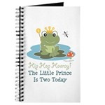 Frog Prince 2nd Birthday Journal