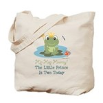 Frog Prince 2nd Birthday Tote Bag