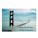 San Francisco Postcards (Package of 8)