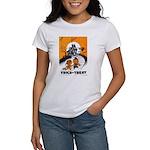 Vintage Trick or Treat Image Women's T-Shirt