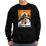 Vintage Trick or Treat Image Sweatshirt (dark)
