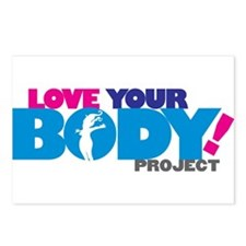LOVE YOUR BODY! Postcards (Package of 8)
