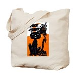 Vintage Trick or Treat Image Tote Bag