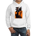 Vintage Trick or Treat Image Hooded Sweatshirt