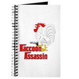 Raccoon Assassin Rooster Journal