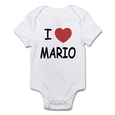 I heart Mario Infant Bodysuit
