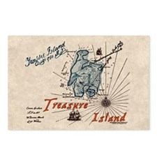 Treasure Island Postcards (Package of 8)
