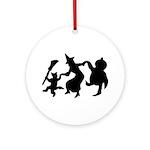 Halloween Dance Ornament (Round)