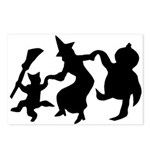 Halloween Dance Postcards (Package of 8)