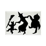 Halloween Dance Rectangle Magnet (100 pack)