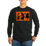 Halloween Dance Long Sleeve Dark T-Shirt