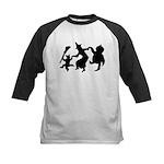 Halloween Dance Kids Baseball Jersey