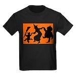 Halloween Dance Kids Dark T-Shirt