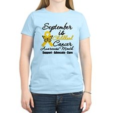 SeptemberChildhoodCancerMonth T-Shirt