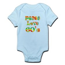 Retro 60's Infant Bodysuit