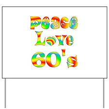 Retro 60's Yard Sign