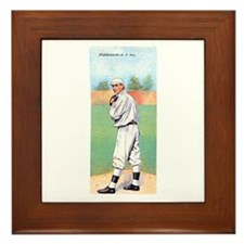 Christy Mathewson Framed Tile