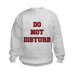 Do Not Disturb Kids Sweatshirt