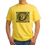 Nesting Pigeons Decorative Yellow T-Shirt