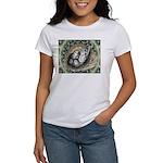 Nesting Pigeons Decorative Women's T-Shirt