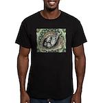 Nesting Pigeons Decorative Men's Fitted T-Shirt (d