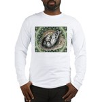 Nesting Pigeons Decorative Long Sleeve T-Shirt
