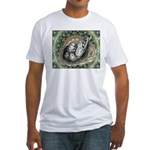 Nesting Pigeons Decorative Fitted T-Shirt