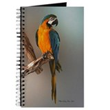 Gorgeous BLue & Gold Macaw Journal