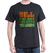 BILL - The Legend Black T-Shirt