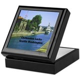 Hiram Chittenden Locks Keepsake Box