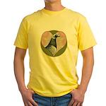 Racing Pigeon Heart Yellow T-Shirt