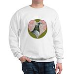 Racing Pigeon Heart Sweatshirt