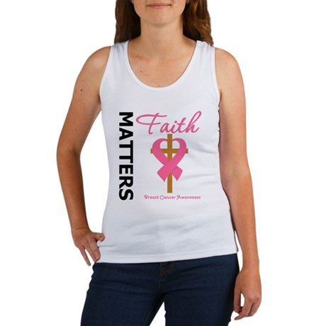 Faith Matters Breast Cancer Women's Tank Top