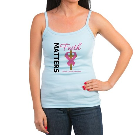 Faith Matters Breast Cancer Jr. Spaghetti Tank