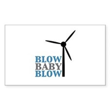 Blow Baby Blow (Wind Energy) Decal