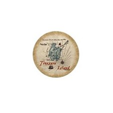 Treasure Island Mini Button