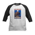 Keep Him Free Eagle Kids Baseball Jersey