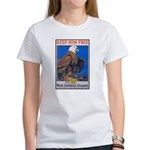 Keep Him Free Eagle (Front) Women's T-Shirt