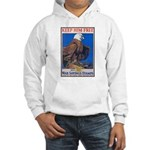 Keep Him Free Eagle Hooded Sweatshirt