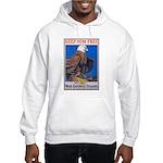 Keep Him Free Eagle Hooded Sweatshirt