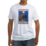 Keep Him Free Eagle Fitted T-Shirt
