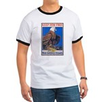 Keep Him Free Eagle Ringer T