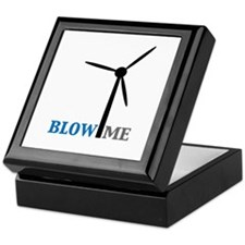 Blow Me (Wind Turbine) Keepsake Box