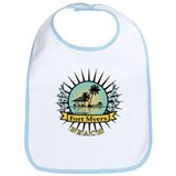 Fort Myers Tropical Scene Bib