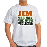 JIM - The Legend Ash Grey T-Shirt