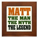 MATT - The Legend Framed Tile