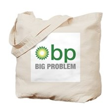 Funny Bp oil Tote Bag